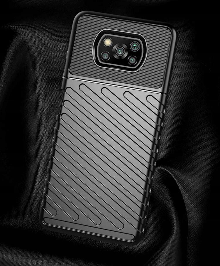 Etui do Xiaomi POCO X3 NFC Pancerne Case + Szkło Przeznaczenie Xiaomi