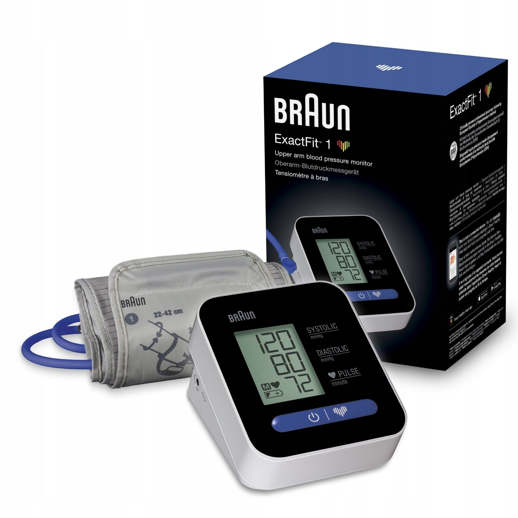 BRAUN ExactFit1 BUA5000 Ciśnieniomierz naramienny