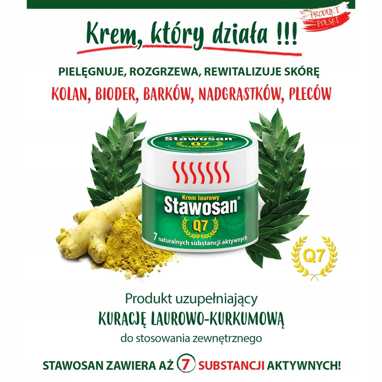 Купить STAWOSAN Q7 KREM LAUROWY ROZGRZEWAJĄCY STAWY 150ml на Otpravka - цены и фото - доставка из Польши и стран Европы в Украину.