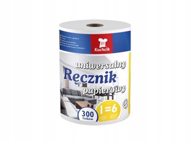 Ręczniki papierowe czyściwo celuloza 300 listków
