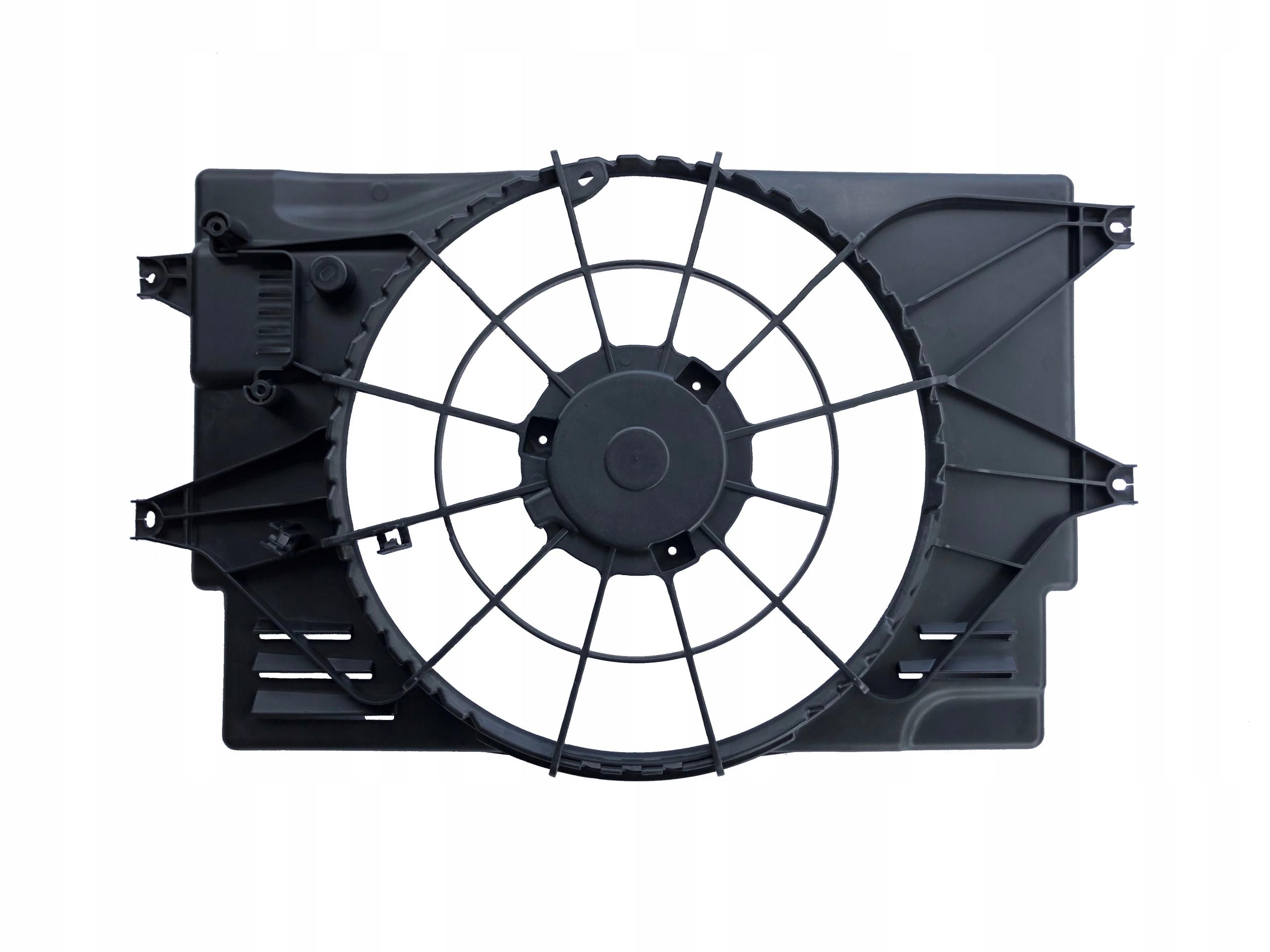 корпус вентилятора hyundai i20 t-gdi 2018-