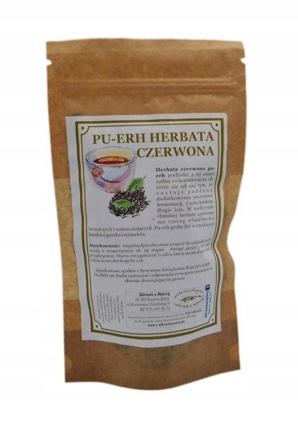 Herbata czerwona Pu-Erh 100g SKLEP ZIELARSKI