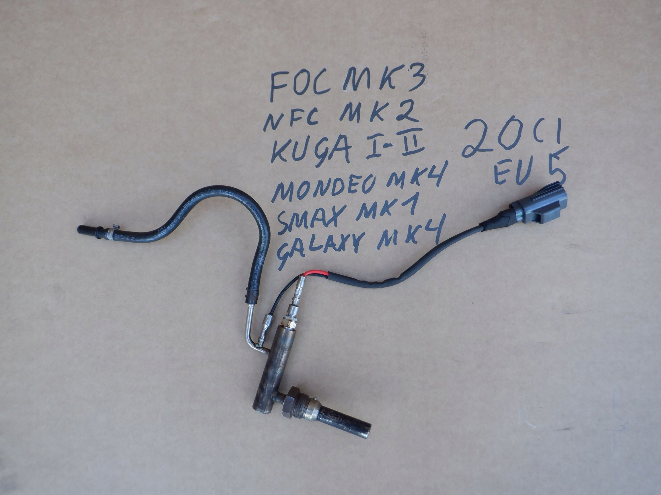 Свеча dpf форсаж ford focus kuga 20 tdci euro5