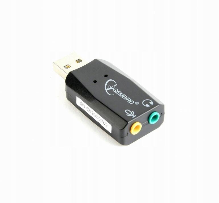 Купить Звуковая карта GEMBIRD Virtus Plus USB2.0 на Otpravka - цены и фото - доставка из Польши и стран Европы в Украину.