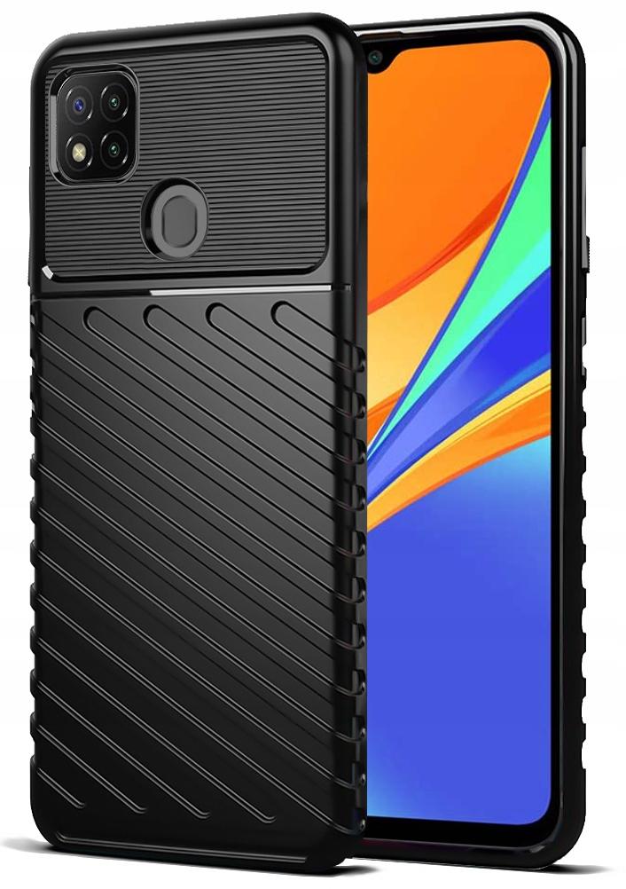 Etui do Xiaomi Redmi 9C Pancerne Case + Szkło 9H Dedykowany model Xiaomi Redmi 9C