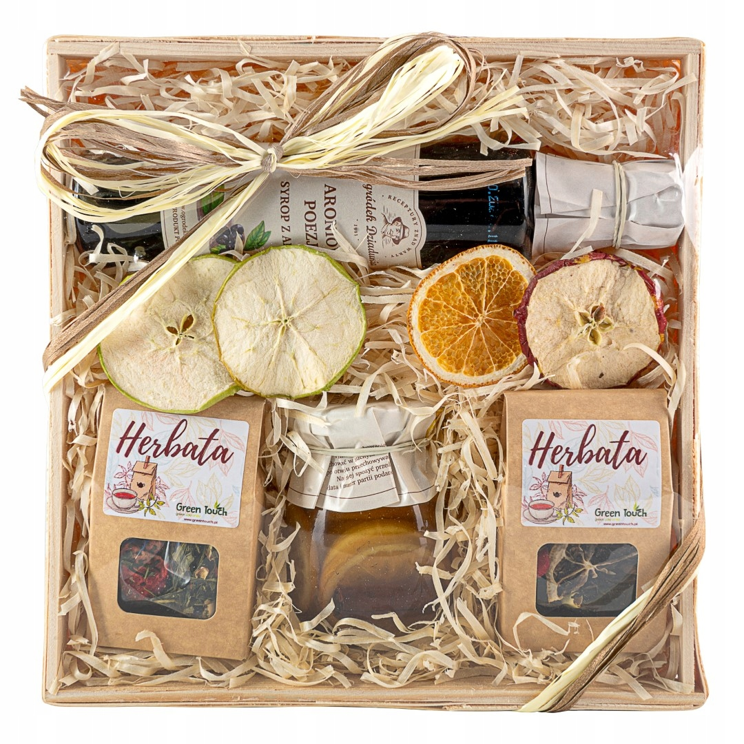 Item BASKET tea gifts and products natural