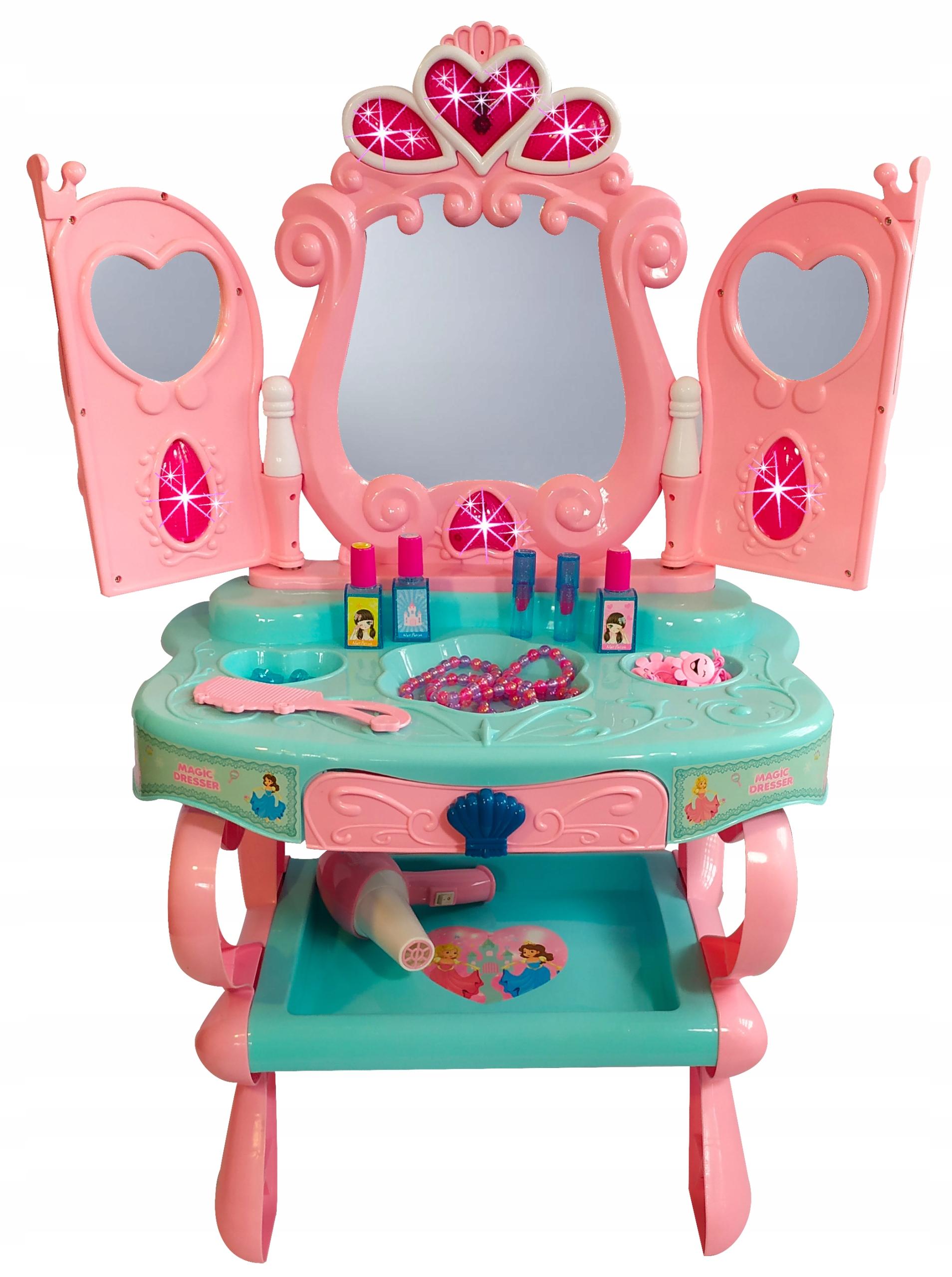 Dievčenské toaletné vozidlo 3 ZRKADLÁ SNÍMAČA ZRKADLA