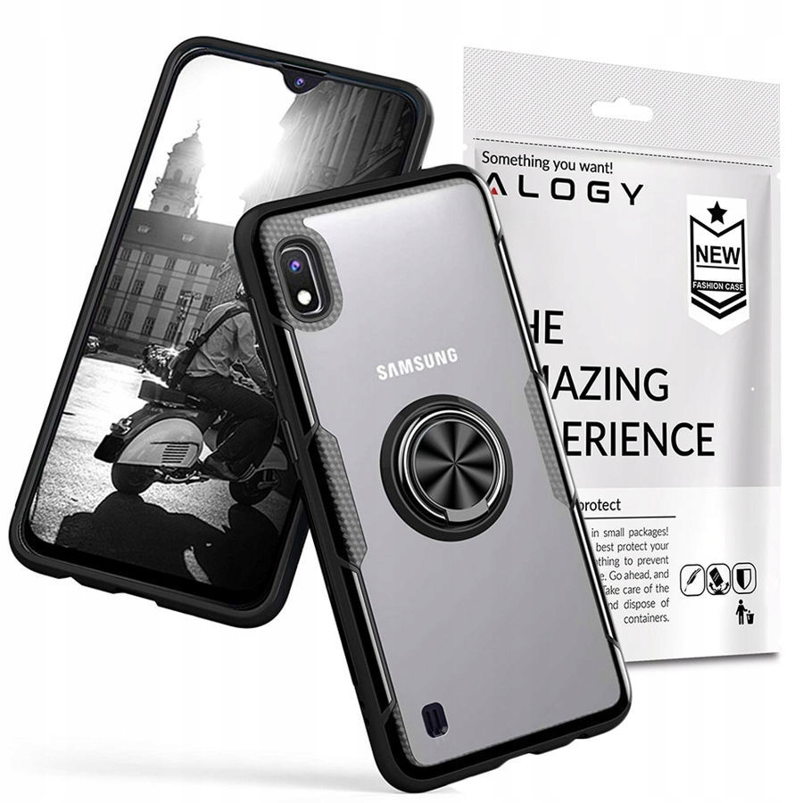 Etui Alogy Karbon Case Ring Holder Do Galaxy A10