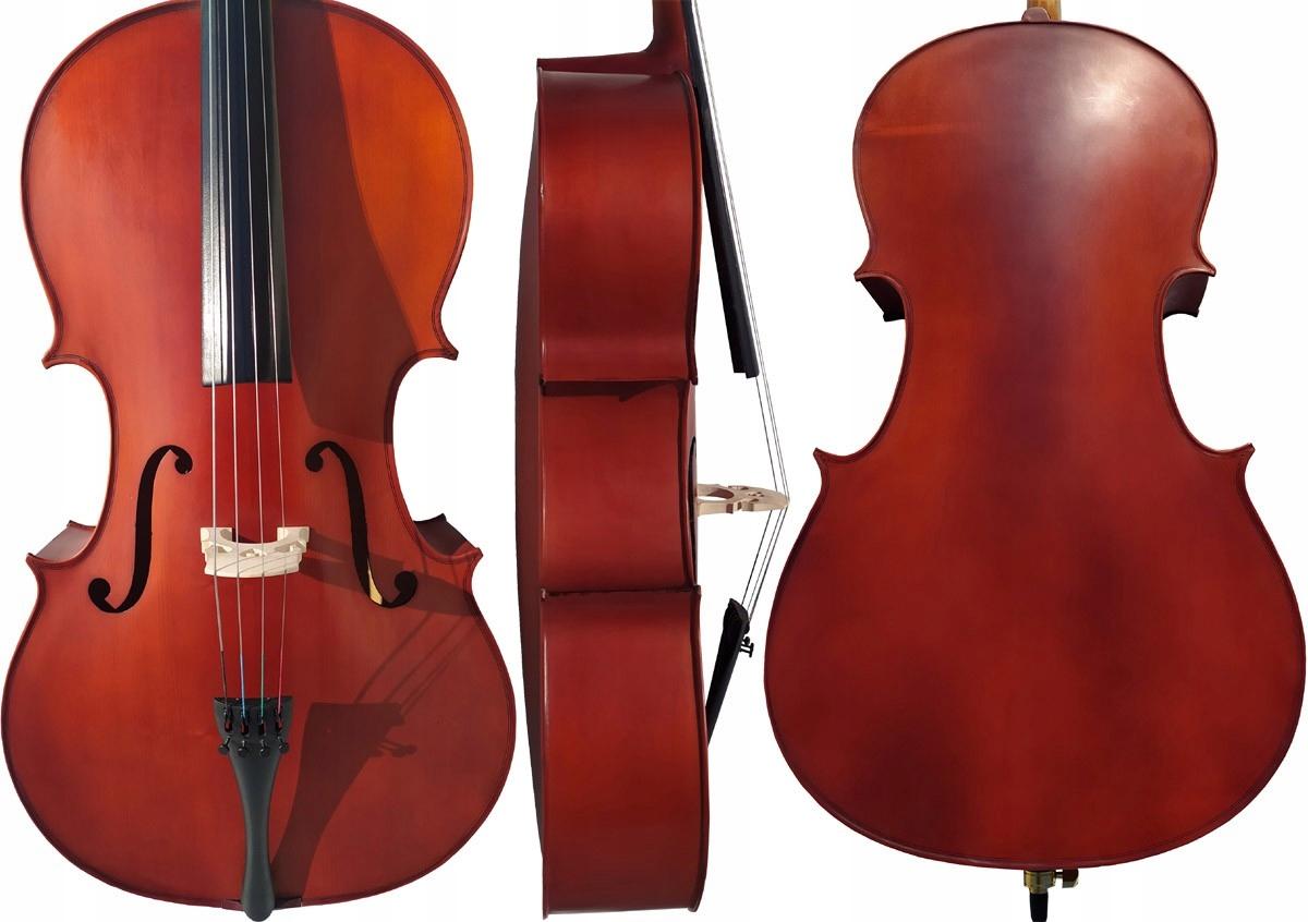Cello 4/4 M-Tunes No.140 Drevené - Študenti