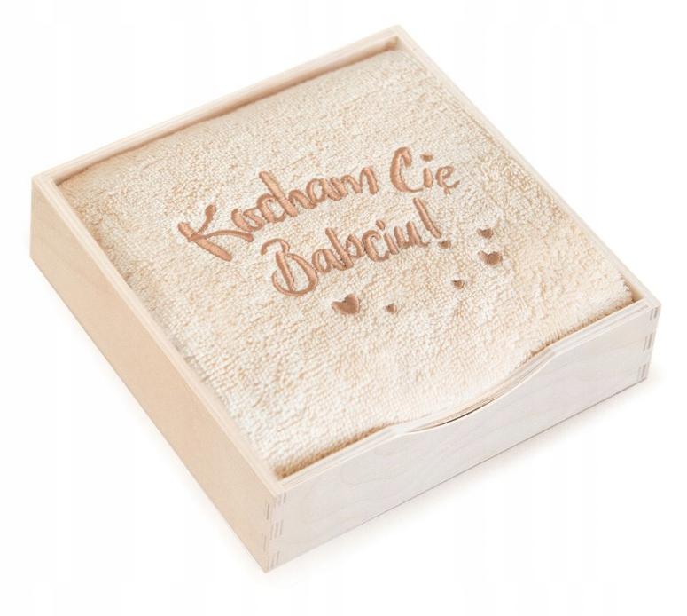 Полотенце в коробке 50х90 Подарок ко Дню бабушки