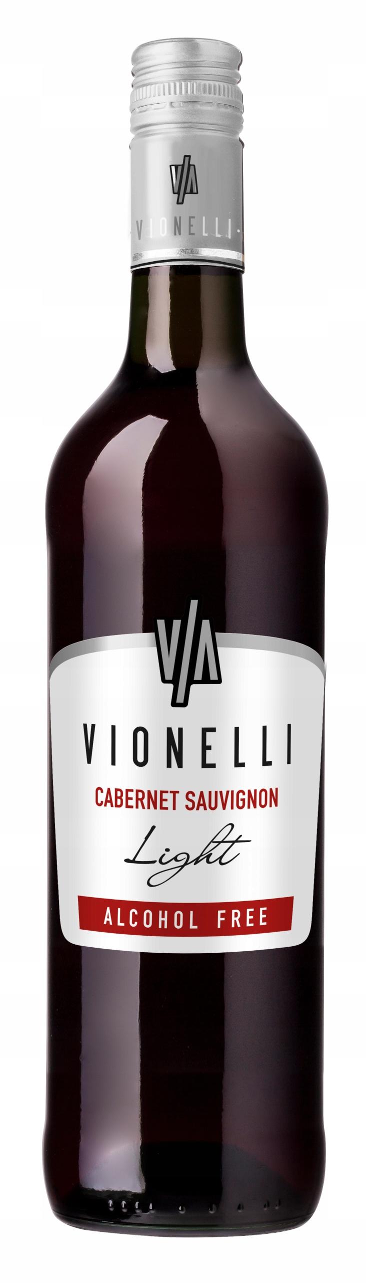 Итальянское вино Vionelli Cab. Совиньон безалкогольный