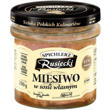 Spichlerz Rusiecki Мясо в собственном соусе 280гр