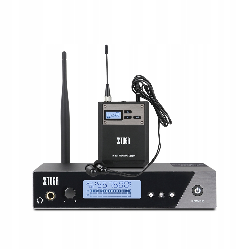Item in-Ear Earbud listening UHF wireless monitor