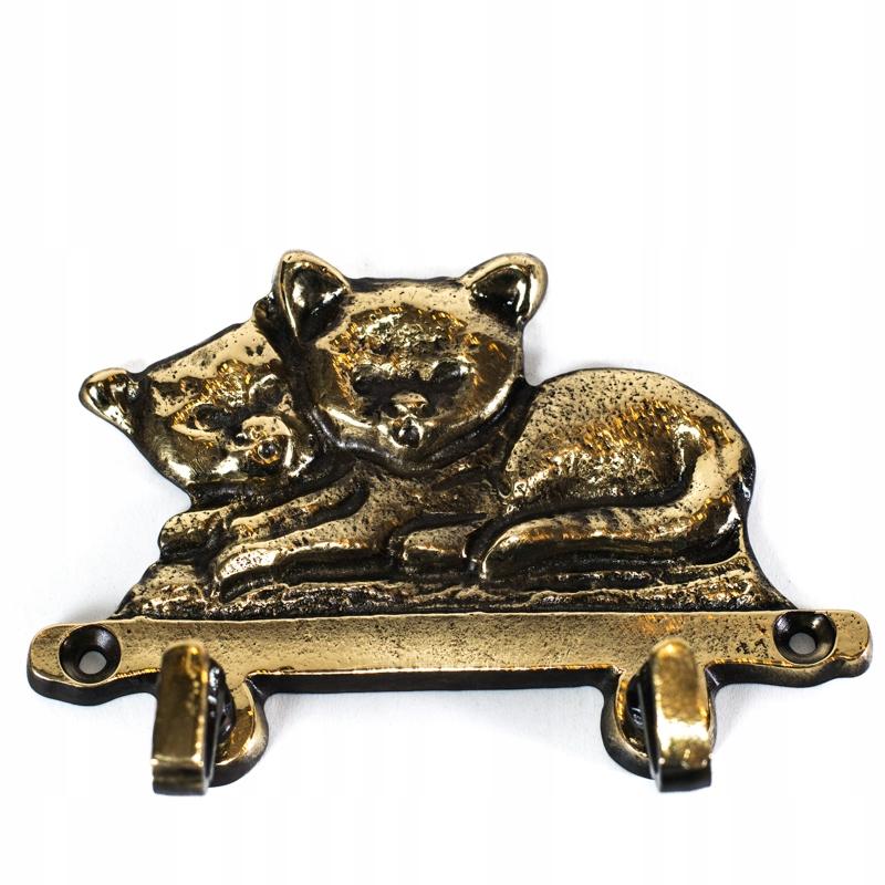 Sladké mačky rukávov Hanger Brass - pozri!