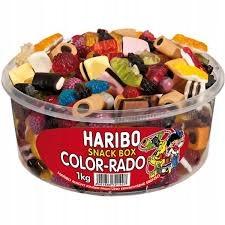 Żelki Haribo Color-Rado 1000g Mieszanka 1kg DE