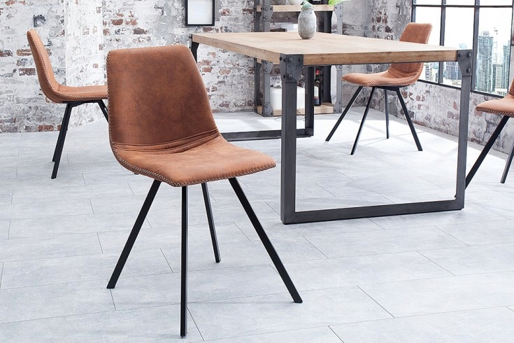 24h stolička Invicta Interior Amsterdam Retro 38 365
