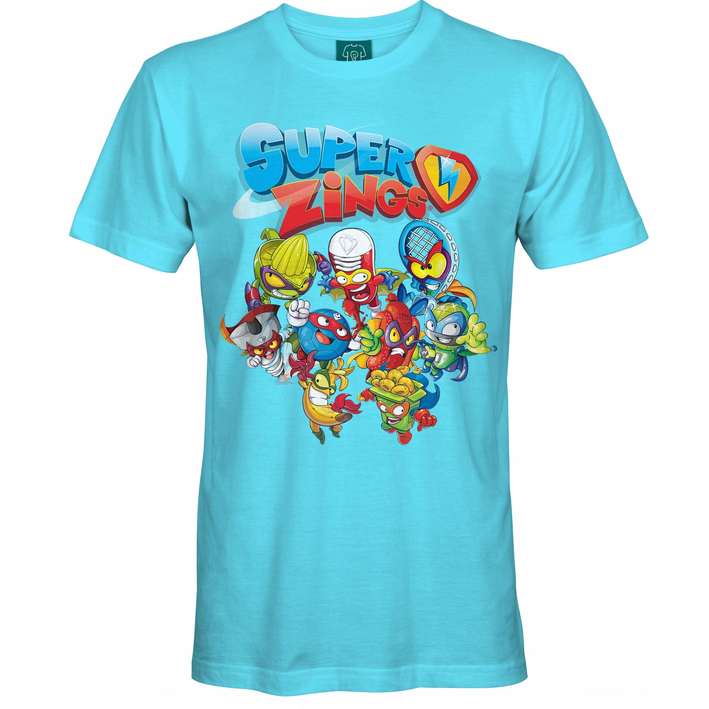 Detské tričko Super Zings [168] 13-14 rokov