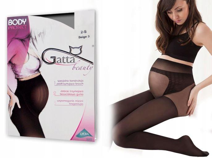 Колготки для беременных GATTA BODY PROTECT 100 DEN 4-L