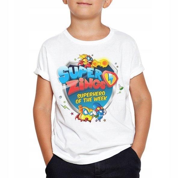 Detské tričko SUPER ZINGS Biele 128