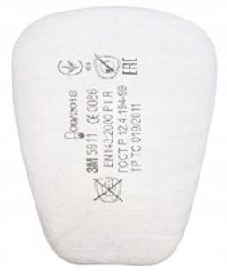 Пылевой фильтр 3М 5911 P1