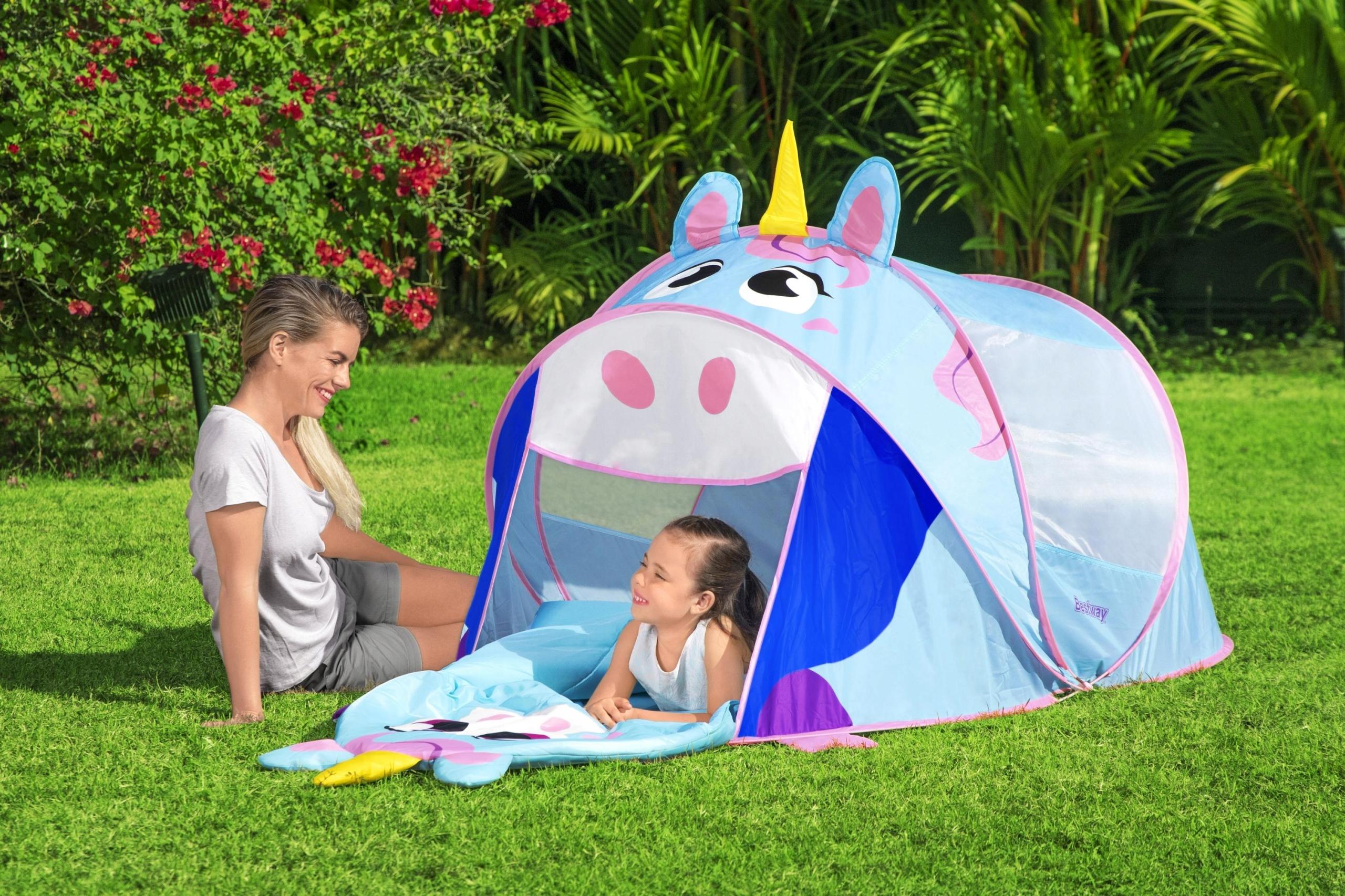 NAMIOT dla dzieci JEDNOROŻEC do domu, ogrodu DOMEK Wiek dziecka 2 lata +