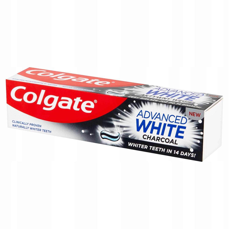Colgate Advanced White активный уголь зубная паста 100 мл