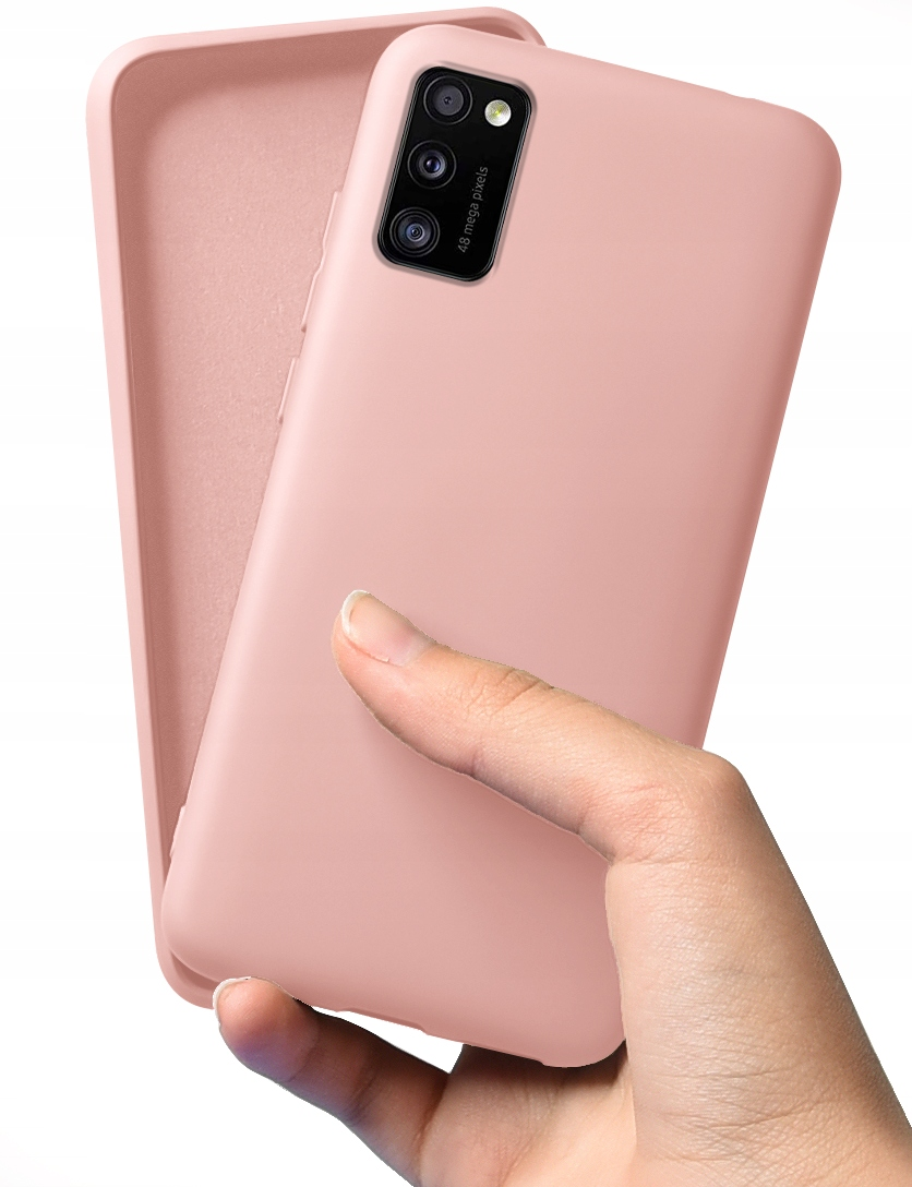 Etui do Samsung Galaxy A41 Case Silicone + Szkło Dedykowany model Galaxy A41
