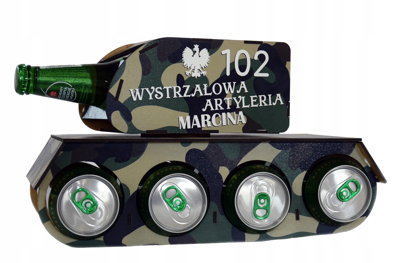 Czołg na Piwo Alkohol Prezent Urodziny 18 Święta