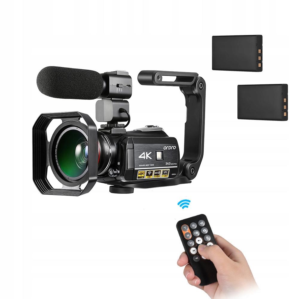 Ordro AC3 4K WiFi Cyfrowa kamera wideo DV Recorder