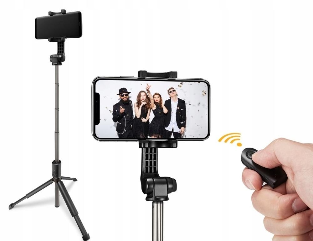 Spigen Kijek Do Zdjęć - Selfie Stick - Tripod