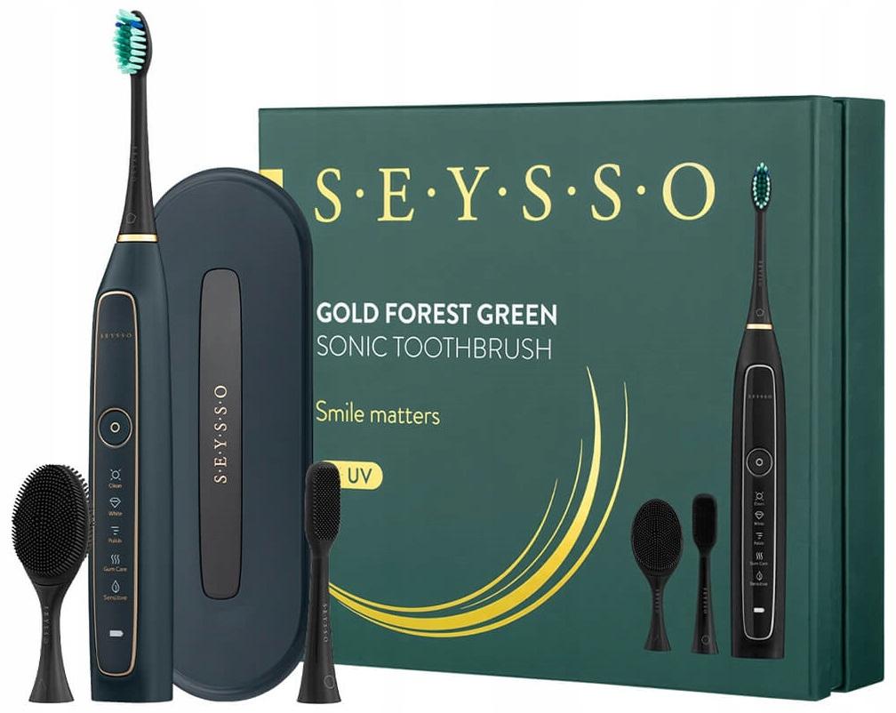 SEYSSO GOLD Forest Green звуковая зубная щетка