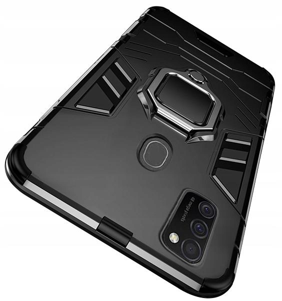Etui Pancerne Case + Szkło do Samsung Galaxy M21