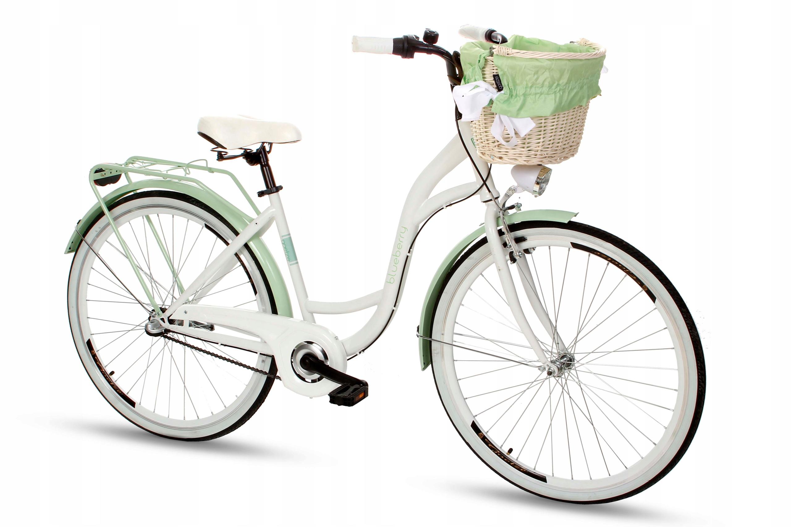 Dámsky mestský bicykel Goetze BLUEBERRY 28 3b košík!  Počet prevodových stupňov 3