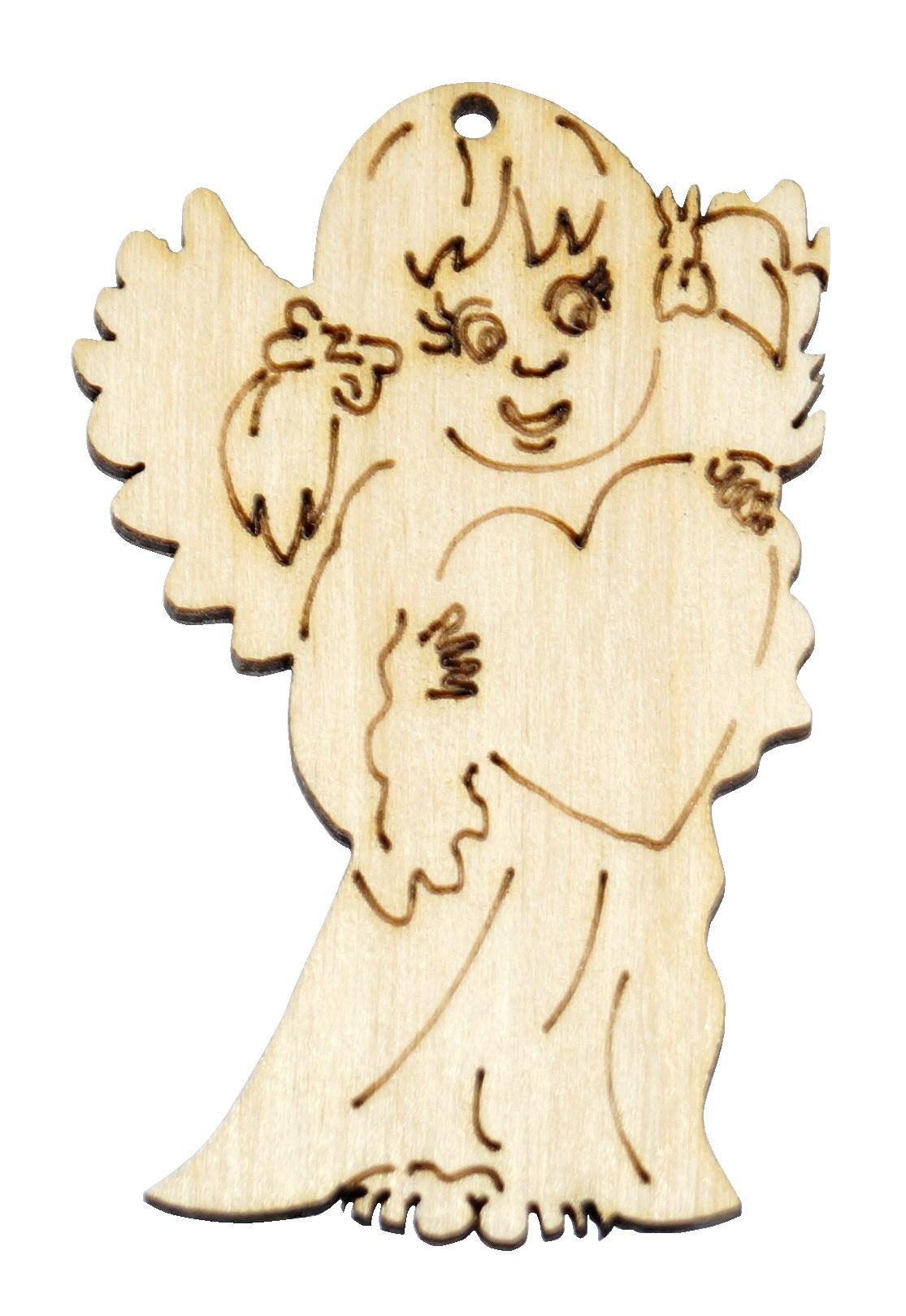 Купить Аниолек кулон орнамент фанерный ангел ДЕКОПАЖ на Otpravka - цены и фото - доставка из Польши и стран Европы в Украину.