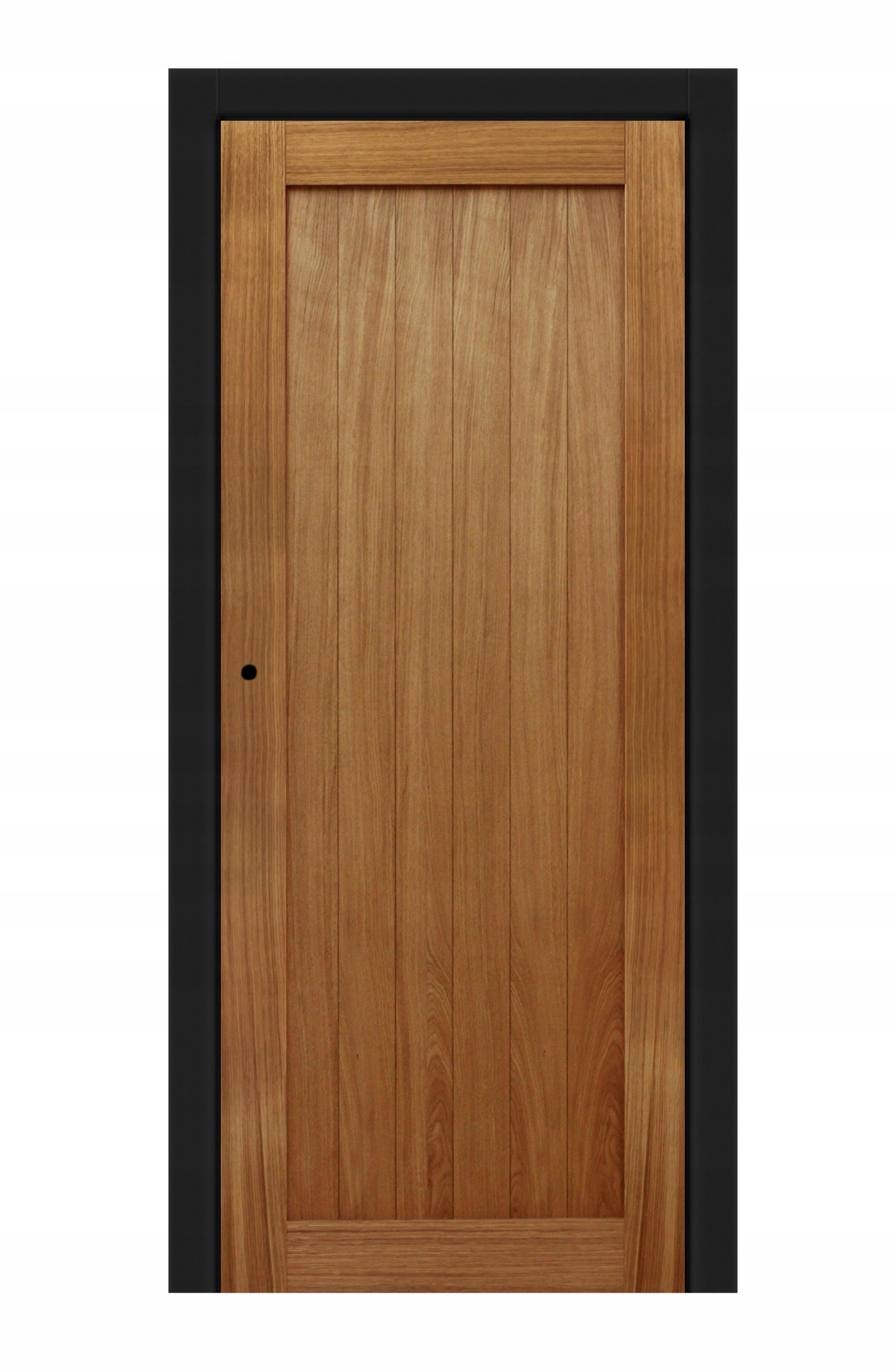 Drzwi Wewnętrzne Drewniane Dębowe Bezprzylgowe