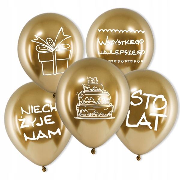 Купить День Рождения Воздушные шары глянцевые Сто лет большие блестящие 1-99 на Otpravka - цены и фото - доставка из Польши и стран Европы в Украину.