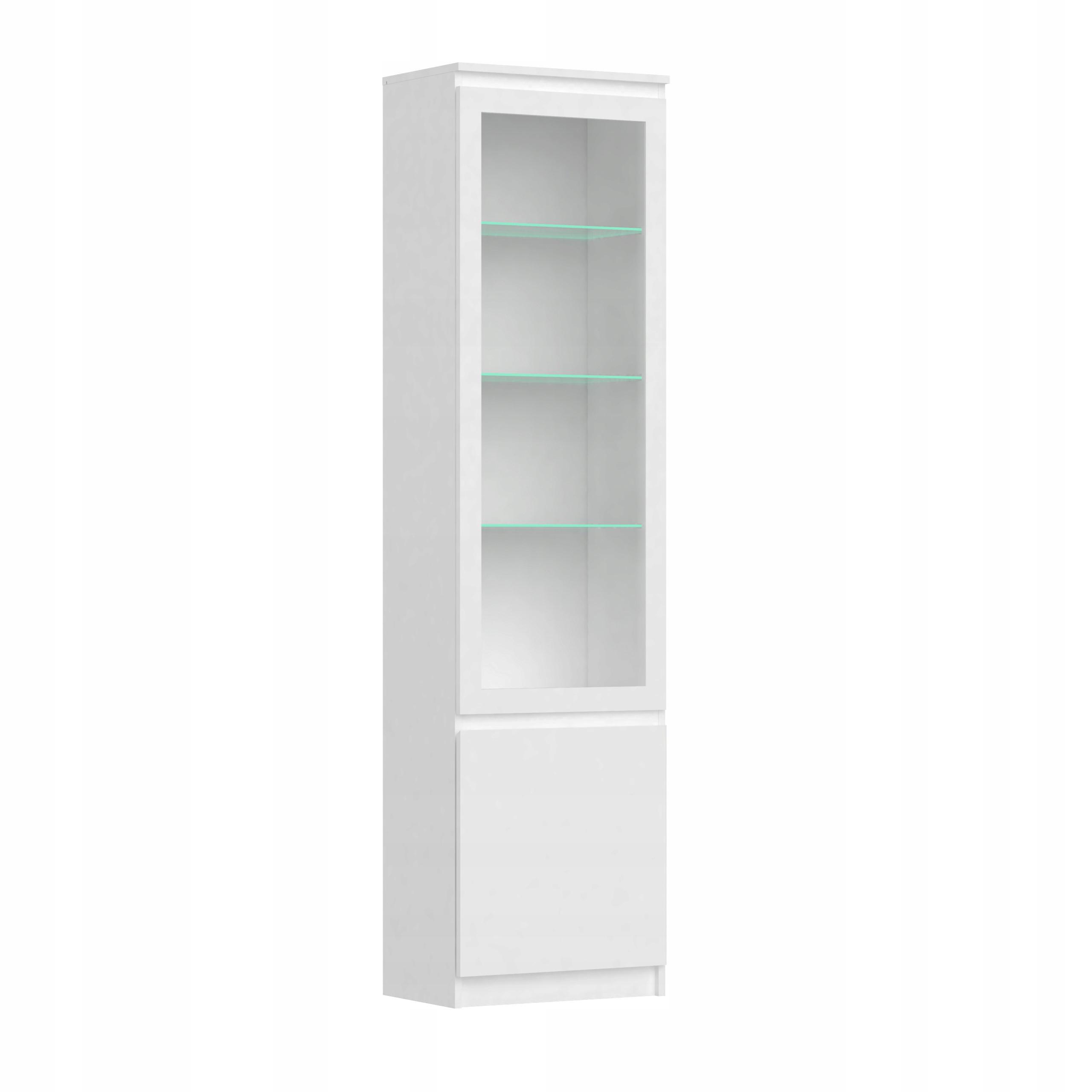 2D высокий книжный шкаф в гостиную