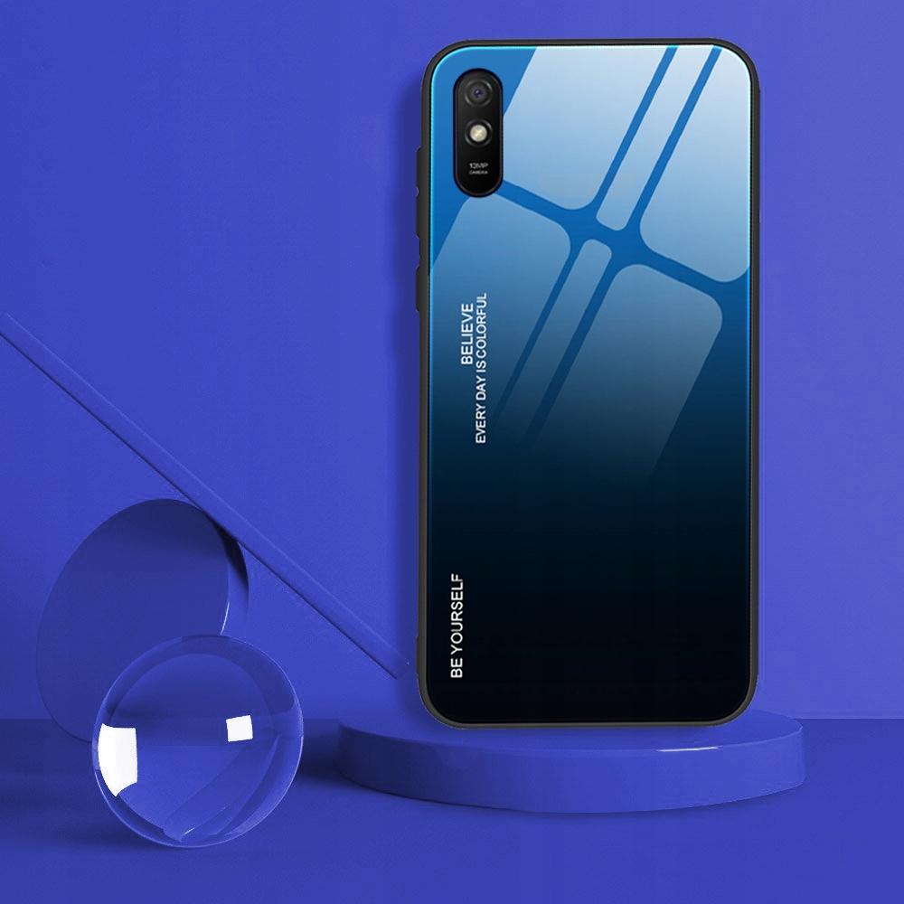 Etui do Xiaomi Redmi 9A Case Glass + Szkło 9H Kod producenta M42A