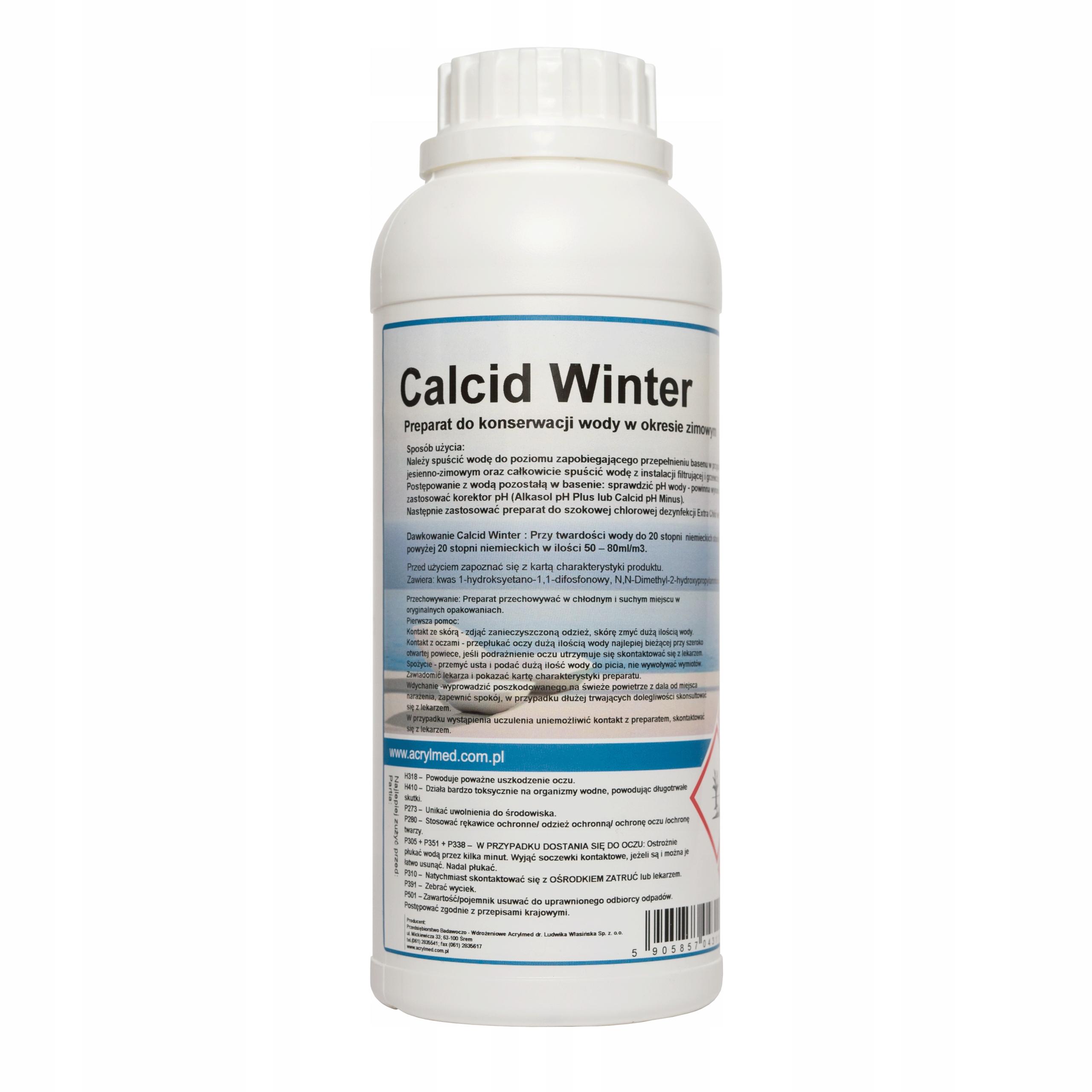 Химия, Зима, агент конформации воды, жидкость 1л.