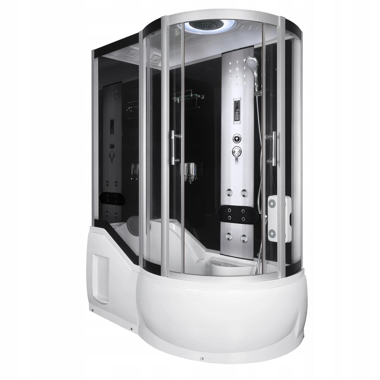 Kabina prysznicowa z hydromasażem 151x85 lewa