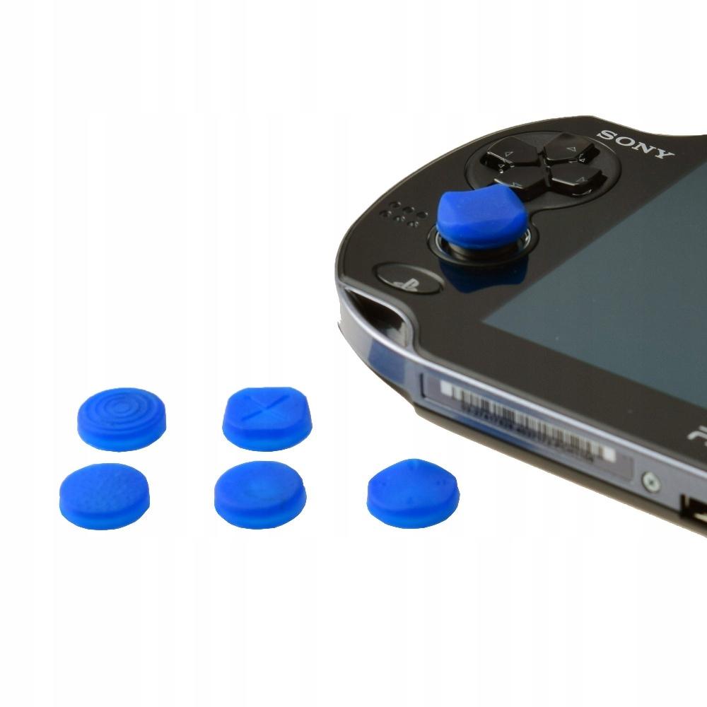 6 Silikónové prekrytie na analógoch PS Vita [nebesia]