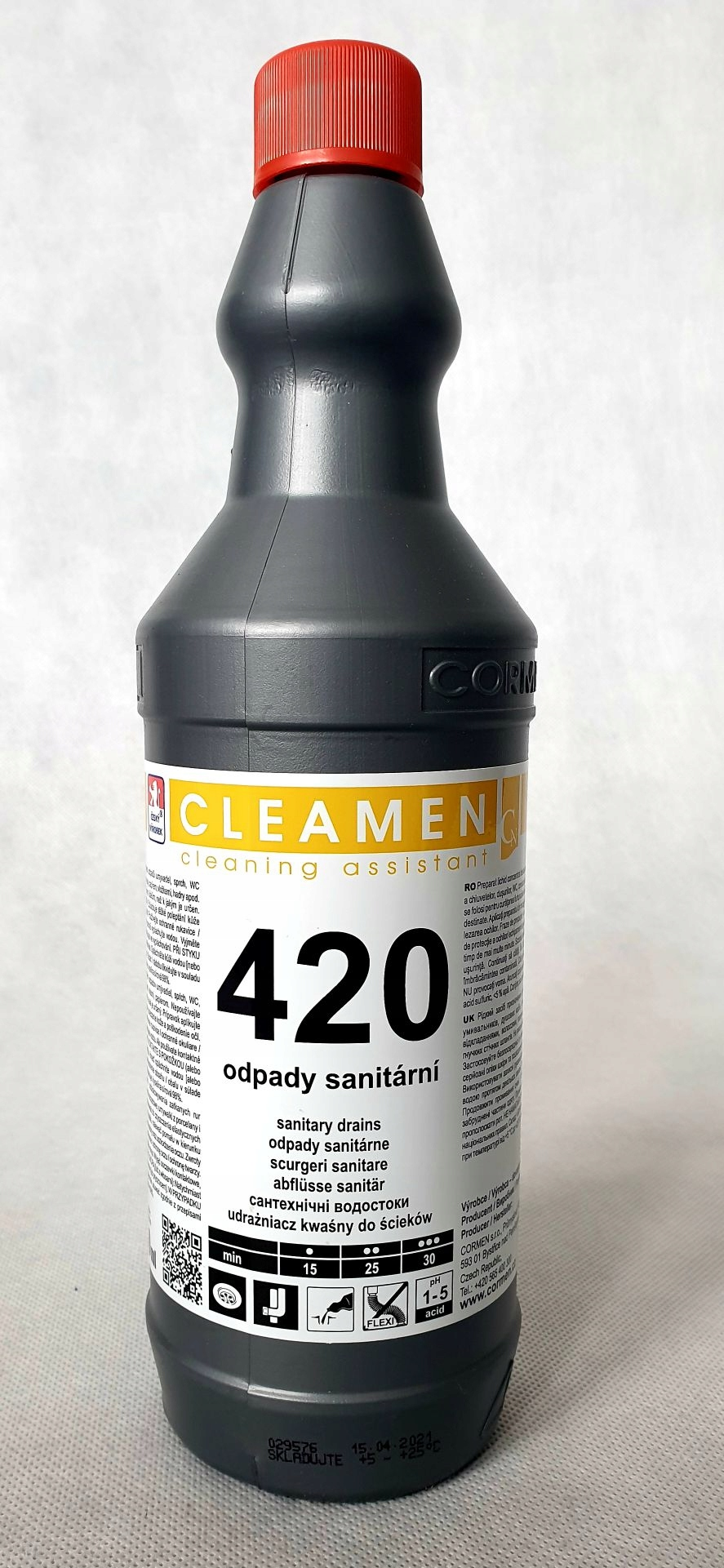 CLEAMEN 420 UDRAŻNIACZ ОТЛИВОВ САНИТАРНЫХ