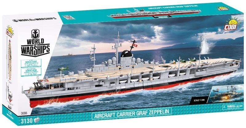 Lietadlová loď COBI Graf Zeppelin 3086