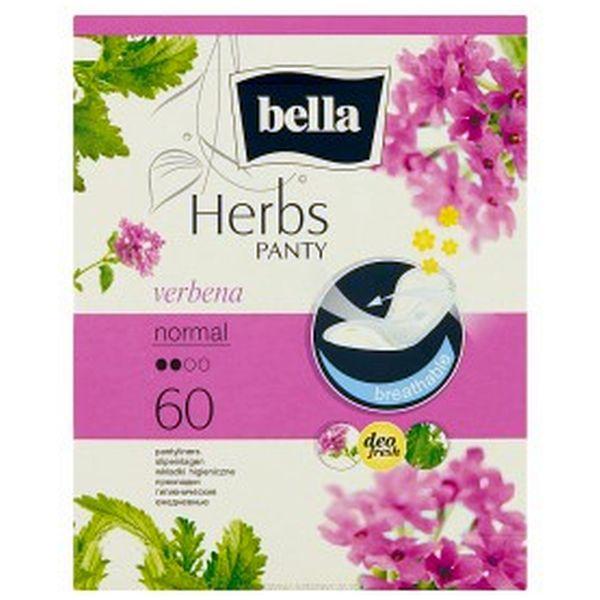 Bella Вкладыши гигиенические Herbs с вербеной, 60szt.