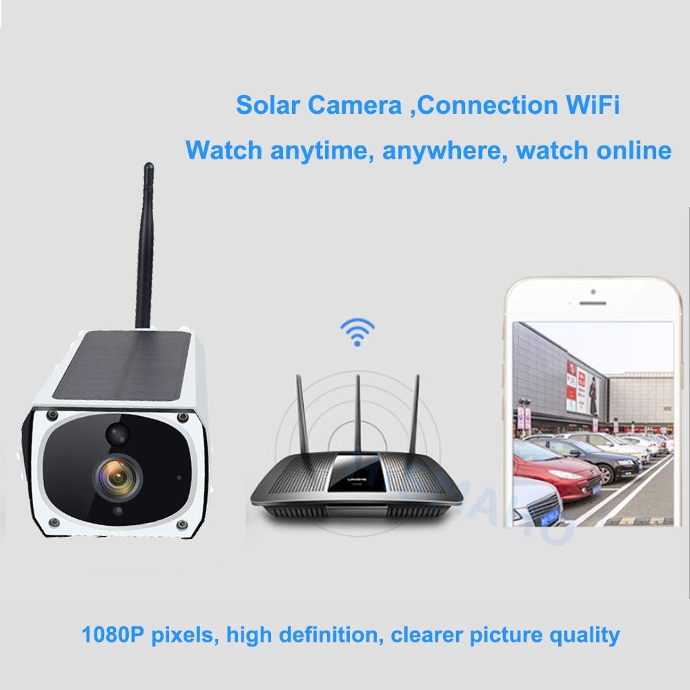 KAMERA LTE SOLARNA GSM 3G 4G CAM SIM 2MPX FULL HD Kod producenta 2020