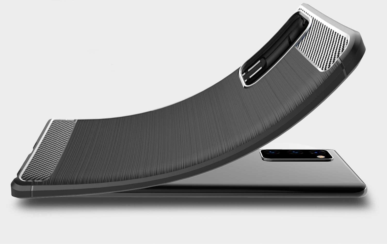 Etui do Xiaomi Mi 10T KARBON PANCERNE + SZKŁO Przeznaczenie Xiaomi