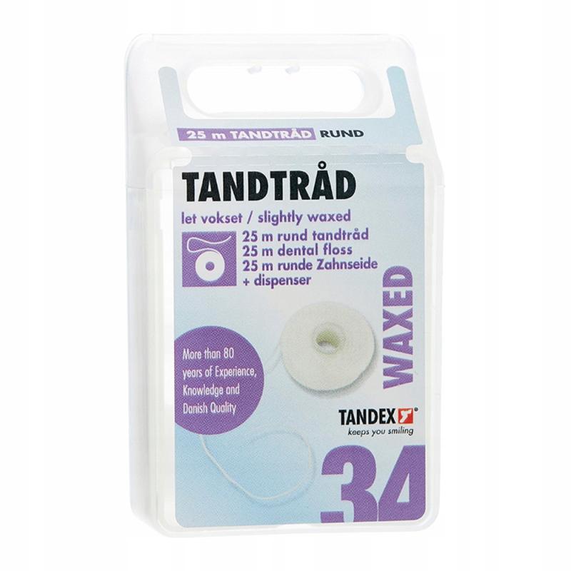 Tandex zubná floss voskovaný zub 25m