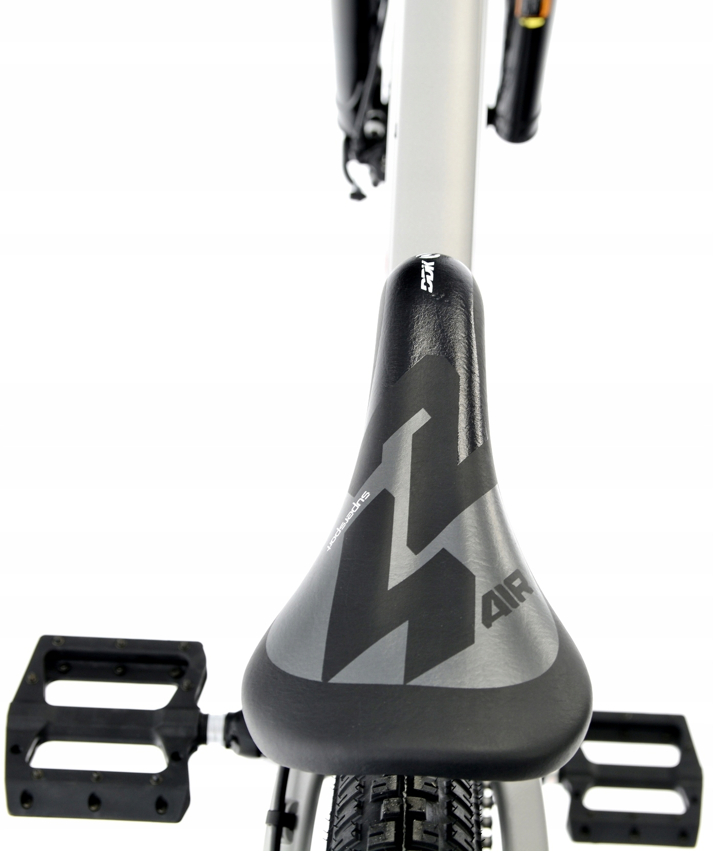 Rower Kands 26 DIRT COLT V2 13 SZARY R21 Hamulce tarczowe hydrauliczne tarczowe mechaniczne
