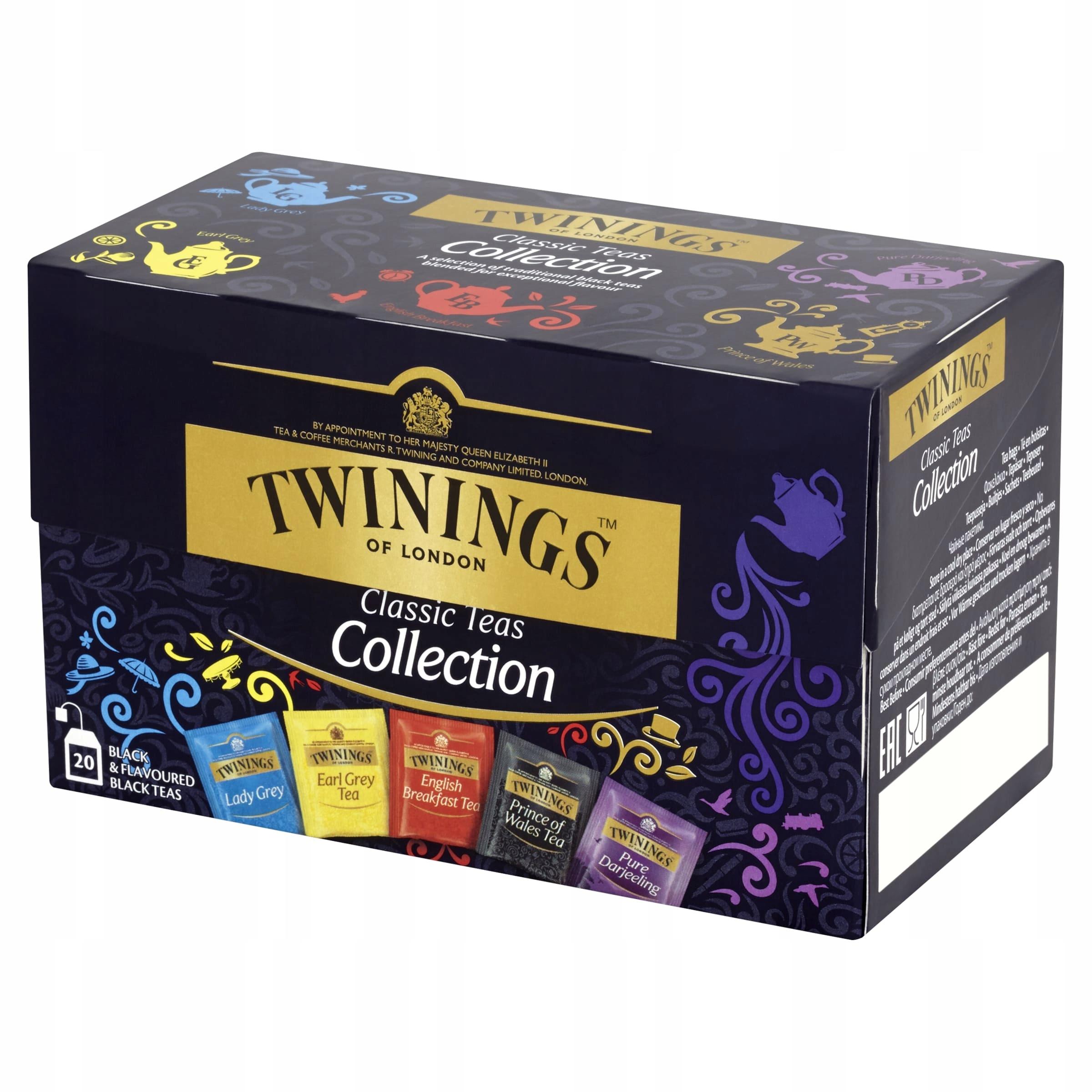 Чайный сервиз Twinings Classic Tea Collection 40г