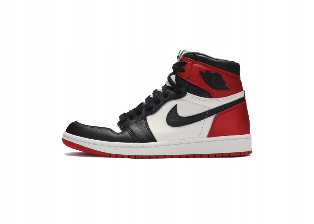 Air Jordan 1 Retro High Satin Black Toe CD0461-016